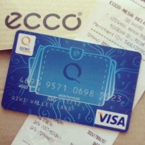 QIWI Visa Plastic является полноценной неименной пластиковой картой VISA