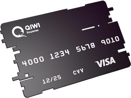 Виртуальная карта Виза QIWI Visa Virtual