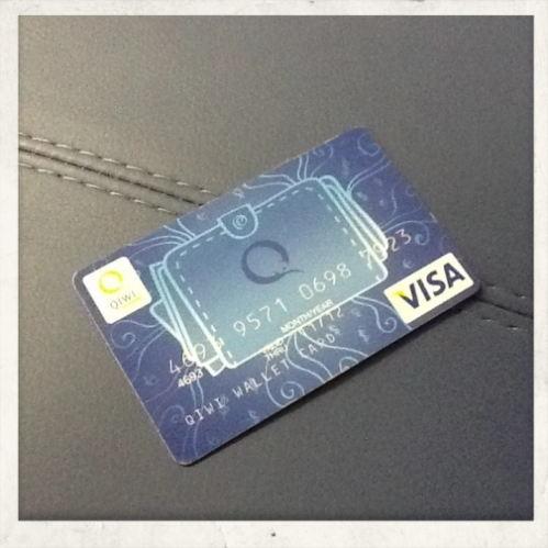 Для кошелька Visa QIWI Wallet выпущено более 3.000.000 карт Visa