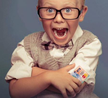 Как оформить банковскую карту для ребёнка?