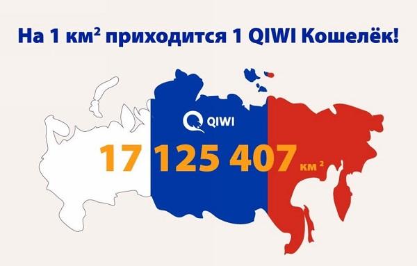 QIWI самый популярный платежный сервис в России