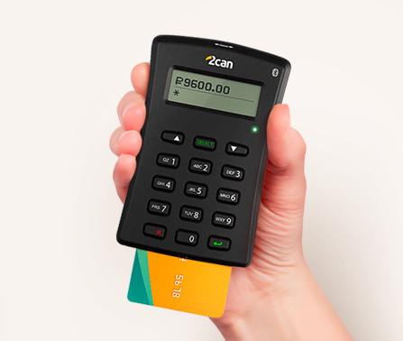 Платежи по картам с Bluetooth-терминалом