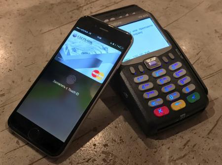 Первые результаты работы Apple Pay и Samsung Pay