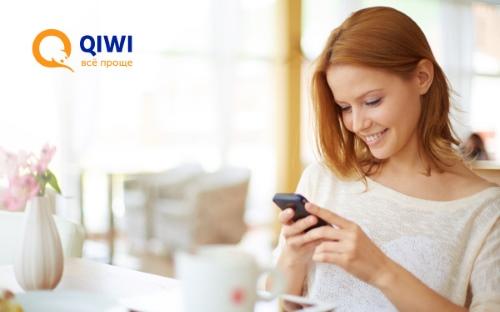 Как с мобильного пополнить QIWI