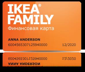 Покупка в рассрочку в IKEA