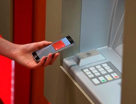 Как снять деньги в бесконтактном банкомате