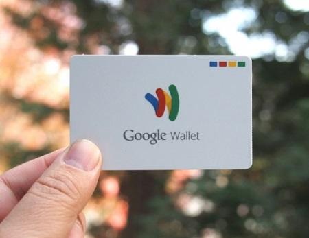 Дебетовая карта Google Wallet Card