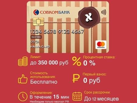 """График платежей по карте """"Халва"""""""
