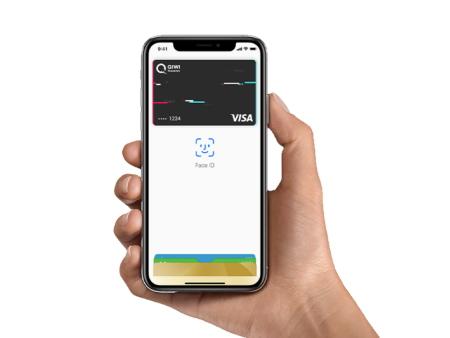 Платите картой QIWI c Apple Pay