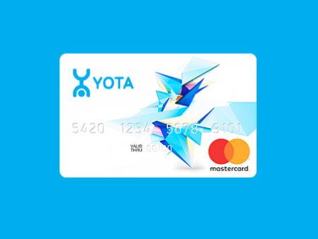 Что такое банковская карта Yota?
